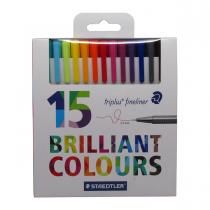 روان نویس triplus استدلر 15 رنگ جعبه مقوا