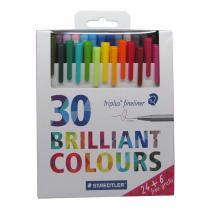 روان نویس triplus استدلر 30 رنگ جعبه فلز