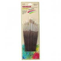 ست قلم موی سرگرد خرم سری 555